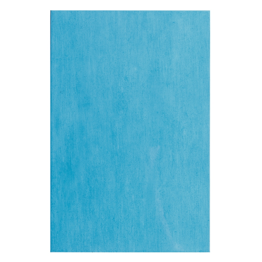 Interceramic Aquarelle 12-Pack Sky Blue Ceramic Wall Tile (Common: 10-in x 20-in; Actual: 9.84-in x 19.66-in)