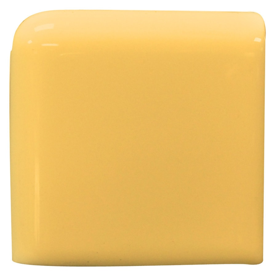 Interceramic Goldenrod Ceramic Chair Rail Tile (Common: 4-in x 4-in; Actual: 4.24-in x 4.24-in)