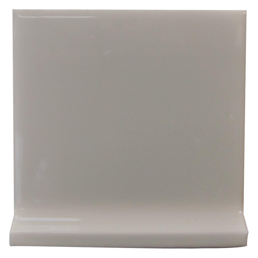 Interceramic Dark Gray Ceramic Cove Base Tile (Common: 4-in x 4-in; Actual: 4.24-in x 4.24-in)