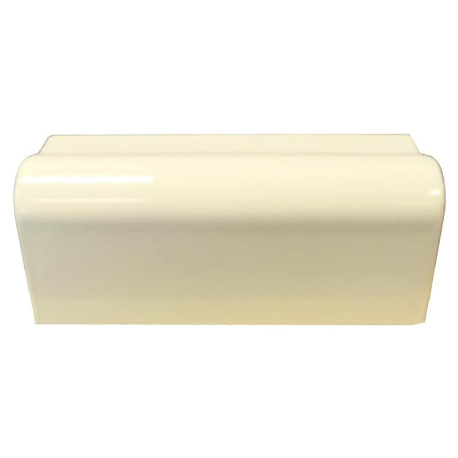 Interceramic Canvas Ceramic Bullnose Tile (Common: 2-1/2-in x 6-in; Actual: 2.13-in x 6-in)