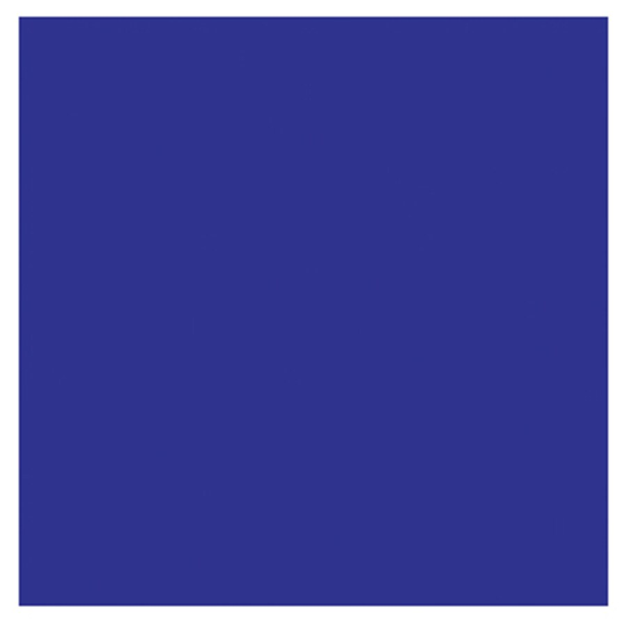 Interceramic Wall 80-Pack Pure Cobalt Ceramic Wall Tile (Common: 4-in x 4-in; Actual: 4.24-in x 4.24-in)