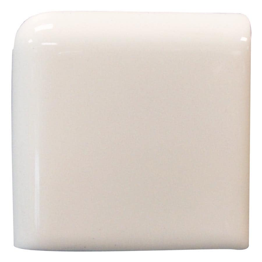Interceramic Smoke Ceramic Bullnose Tile (Common: 2-in x 2-in; Actual: 2-in x 2-in)