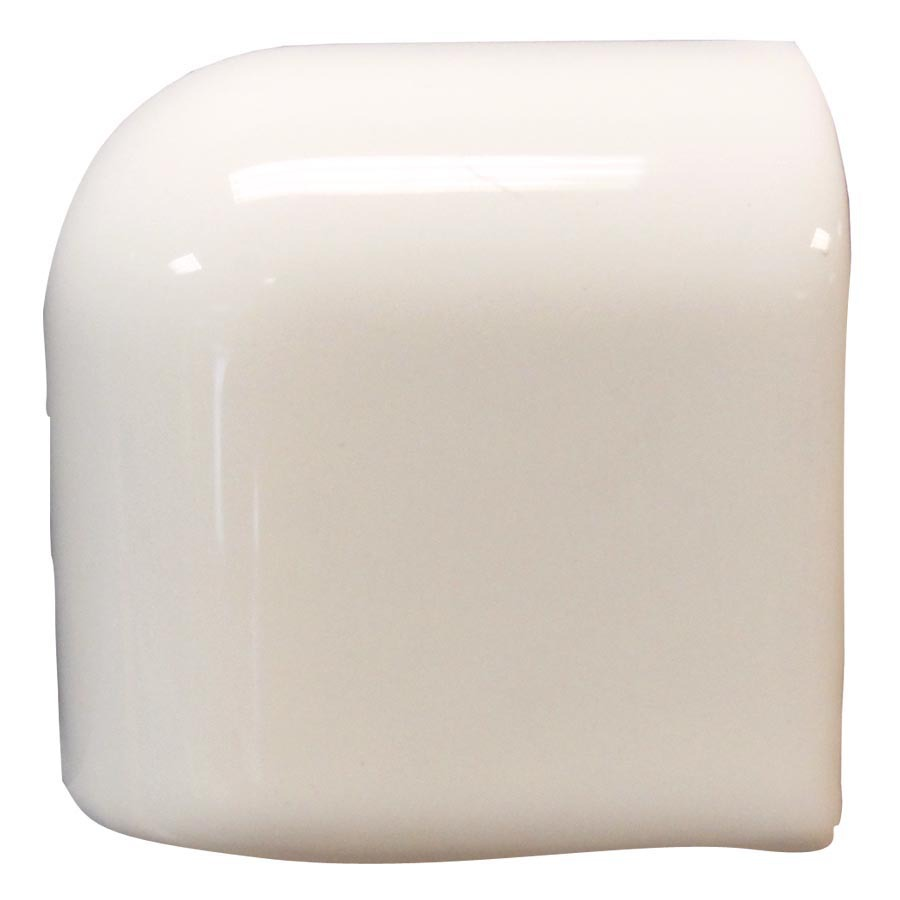 Interceramic Smoke Ceramic Mud Cap Corner Tile (Common: 2-in x 2-in; Actual: 2-in x 2-in)