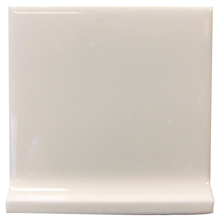 Interceramic Smoke Ceramic Cove Base Tile (Common: 4-in x 4-in; Actual: 4.24-in x 4.24-in)