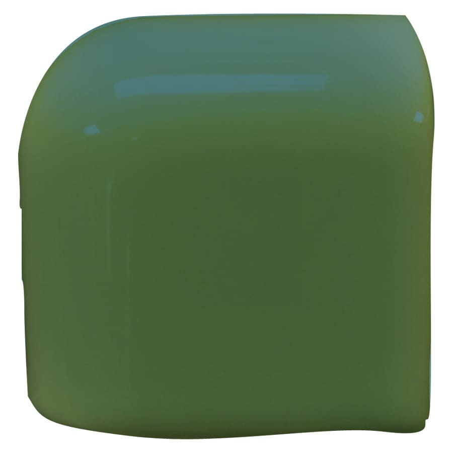 Interceramic Evergreen Ceramic Mud Cap Corner Tile (Common: 2-in x 2-in; Actual: 2-in x 2-in)