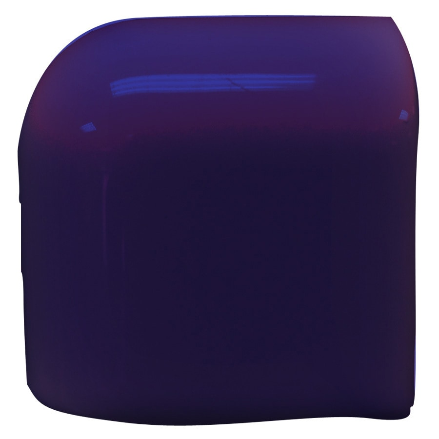 Interceramic Pure Cobalt Ceramic Mud Cap Corner Tile (Common: 2-in x 2-in; Actual: 2-in x 2-in)