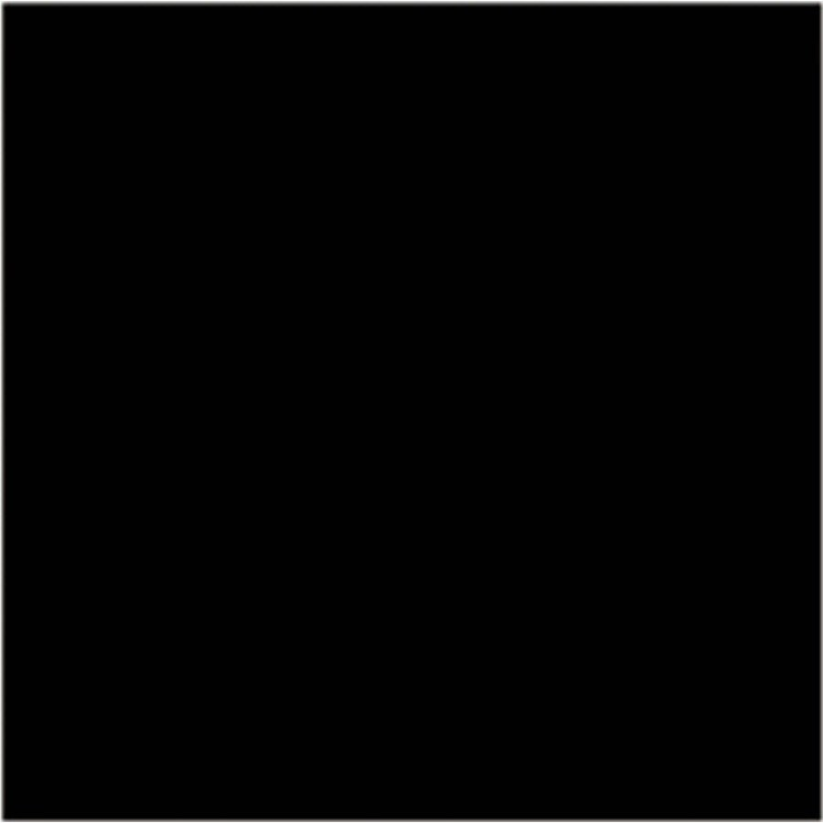 Interceramic Wall 40-Pack Absolute Black Ceramic Wall Tile (Common: 6-in x 6-in; Actual: 6.01-in x 6.01-in)
