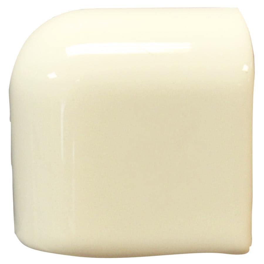Interceramic Canvas Ceramic Mud Cap Corner Tile (Common: 2-in x 2-in; Actual: 2-in x 2-in)