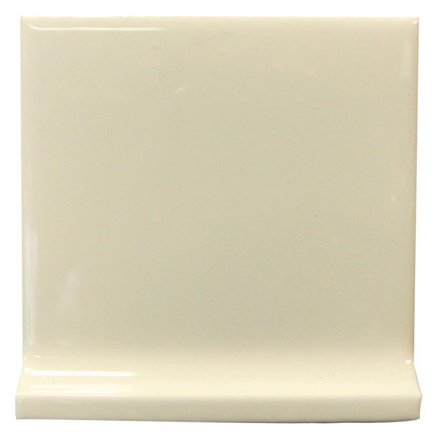 Interceramic Canvas Ceramic Cove Base Tile (Common: 4-in x 4-in; Actual: 4.24-in x 4.24-in)