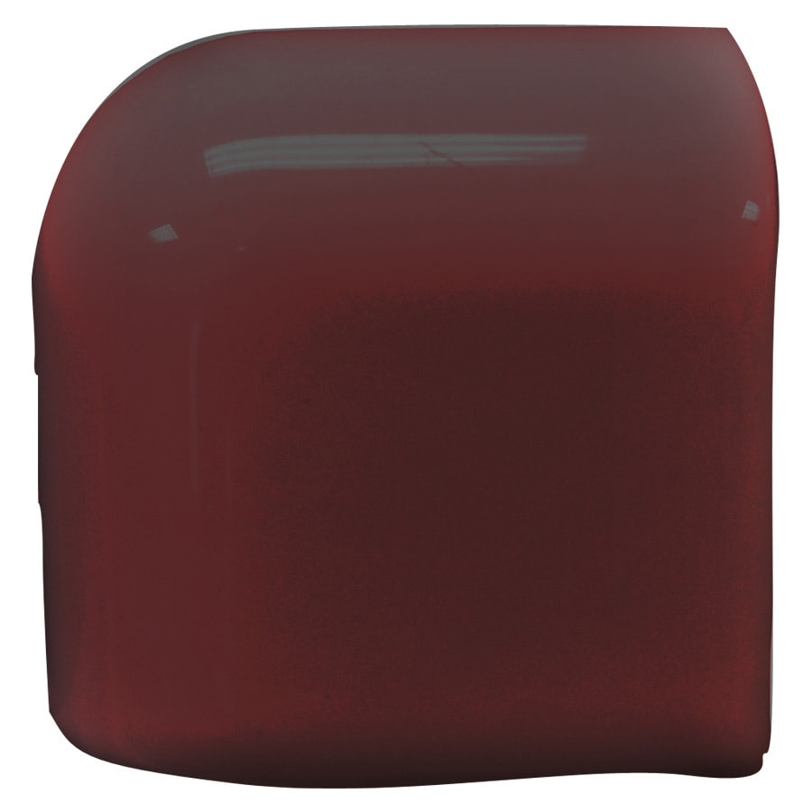 Interceramic Plum Ceramic Mud Cap Corner Tile (Common: 2-in x 2-in; Actual: 2-in x 2-in)