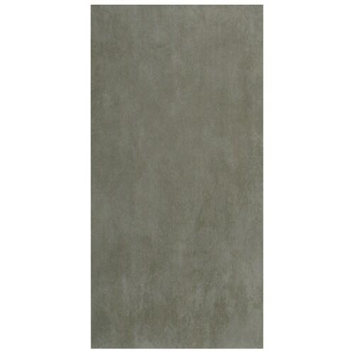 Interceramic Concrete 8-Pack Light Gray Porcelain Floor
