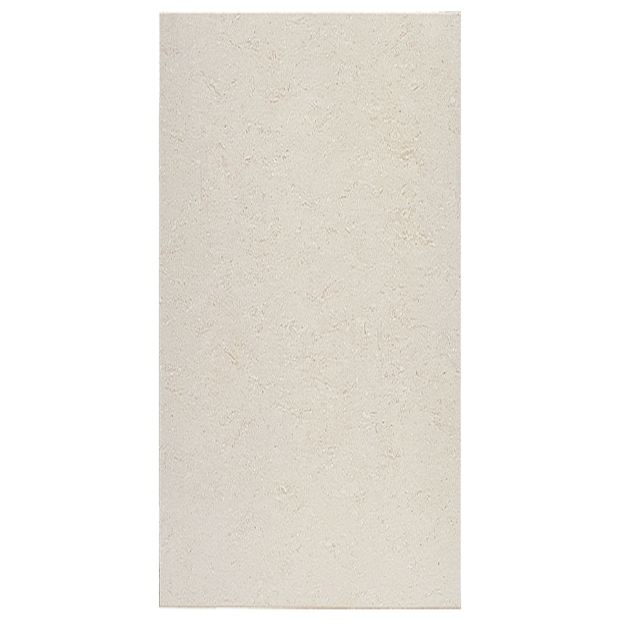 Interceramic Barcelona Ii 8-Pack White Thru Body Porcelain Floor Tile (Common: 12-in x 24-in; Actual: 11.81-in x 23.69-in)