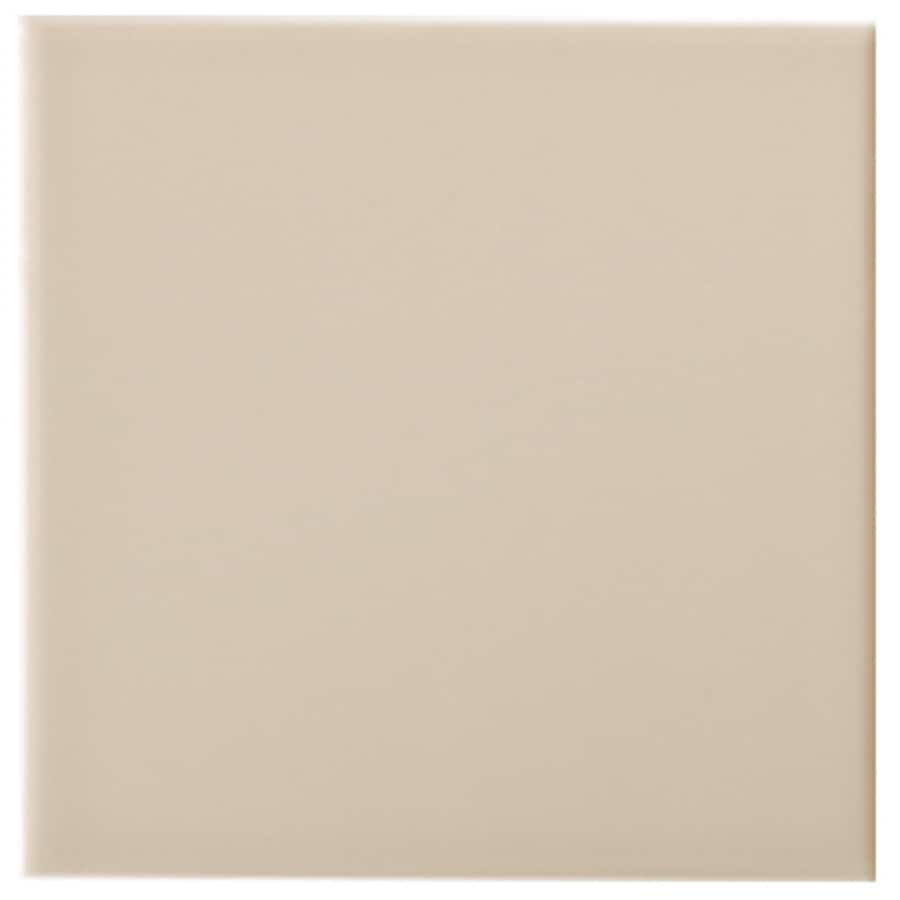 Interceramic Wall 80-Pack Tender Tan Ceramic Wall Tile (Common: 4-in x 4-in; Actual: 4.25-in x 4.25-in)