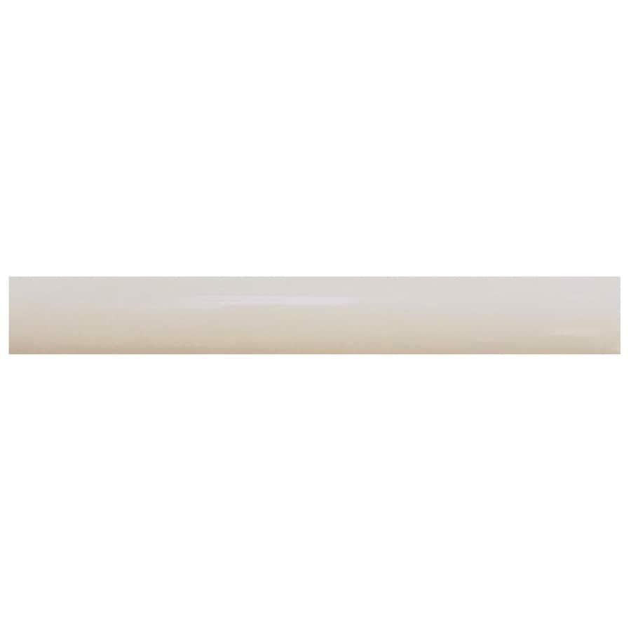 Interceramic Decorative Accents Smoke Ceramic Pencil Liner Tile (Common: 1/2-in x 8-in; Actual: 0.48-in x 7.85-in)