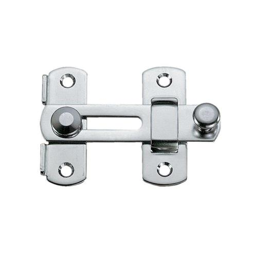 Sugatsune 2-in Chrome Stainless Steel Bar Holder in the ...