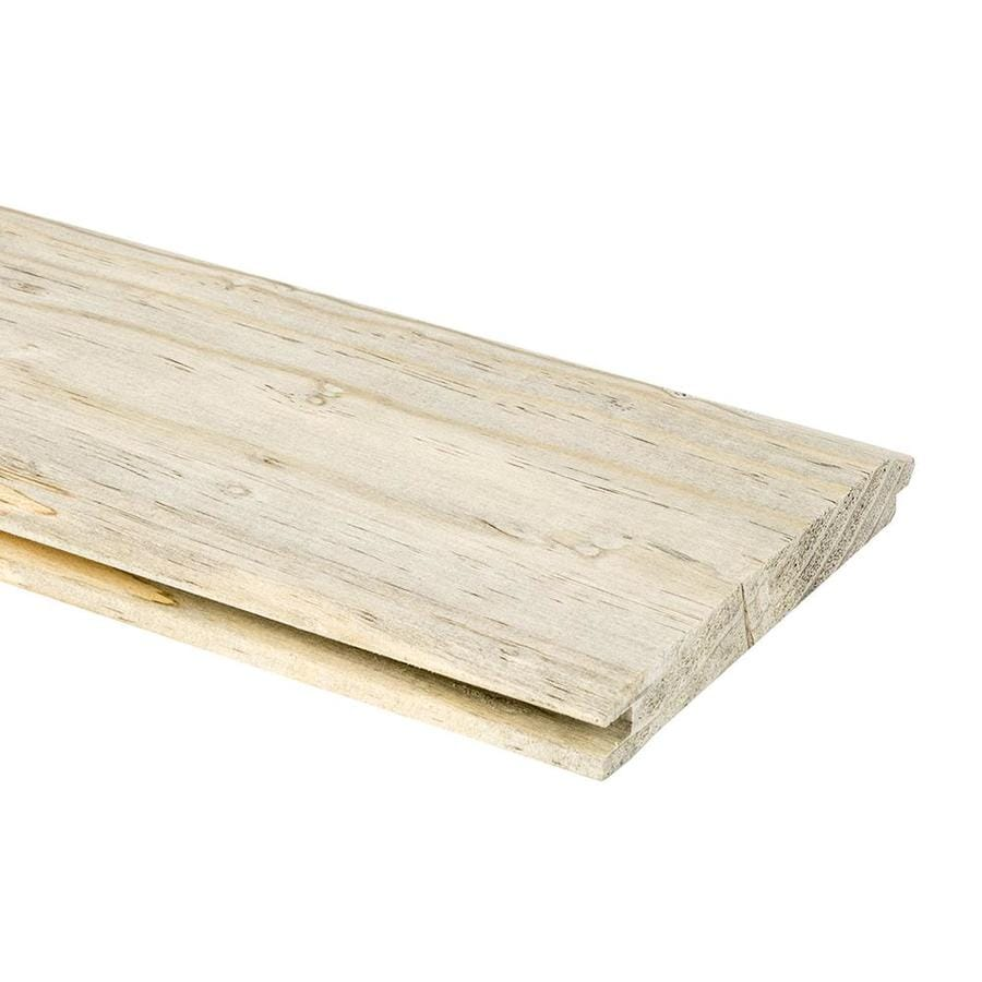 Natural Unfinished Pine: Shop Blue Stain 5.375-in X 12-ft Unfinished Natural With