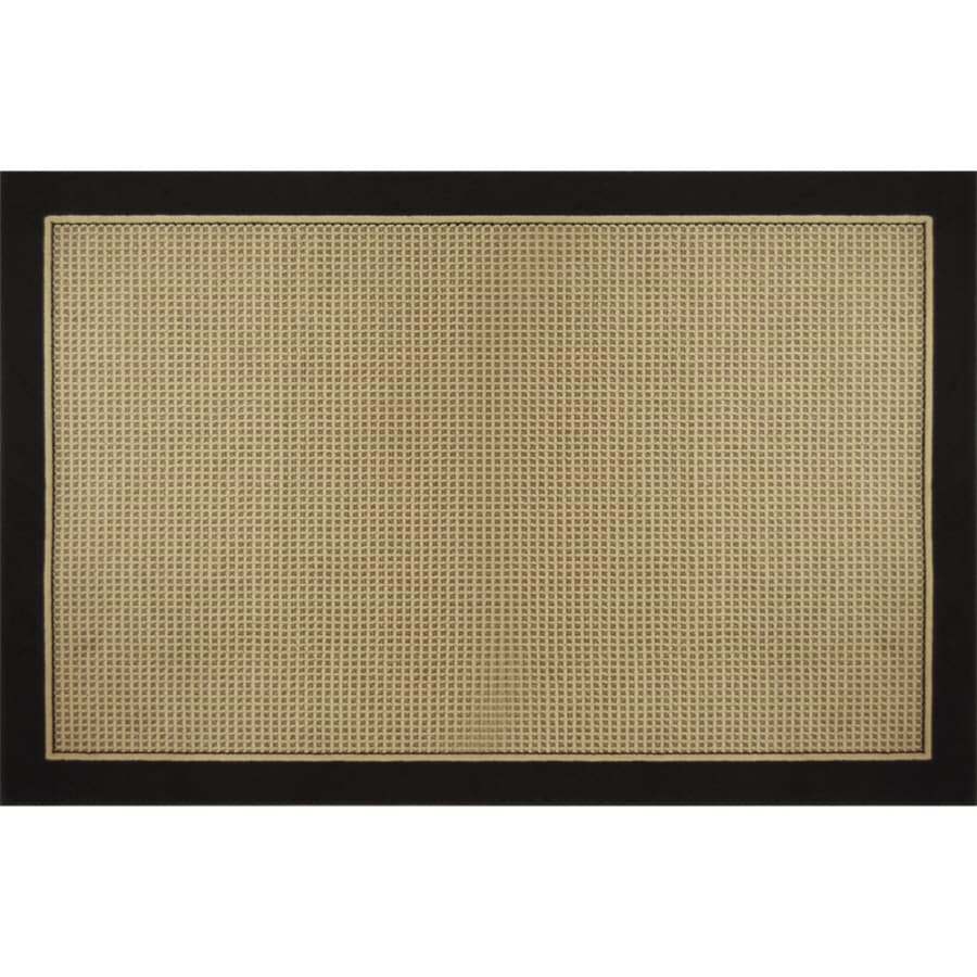 Home Dynamix Classic Black Rectangular Indoor Woven Area Rug (Common: 5 x 8; Actual: 5.17-ft W x 7-ft L)