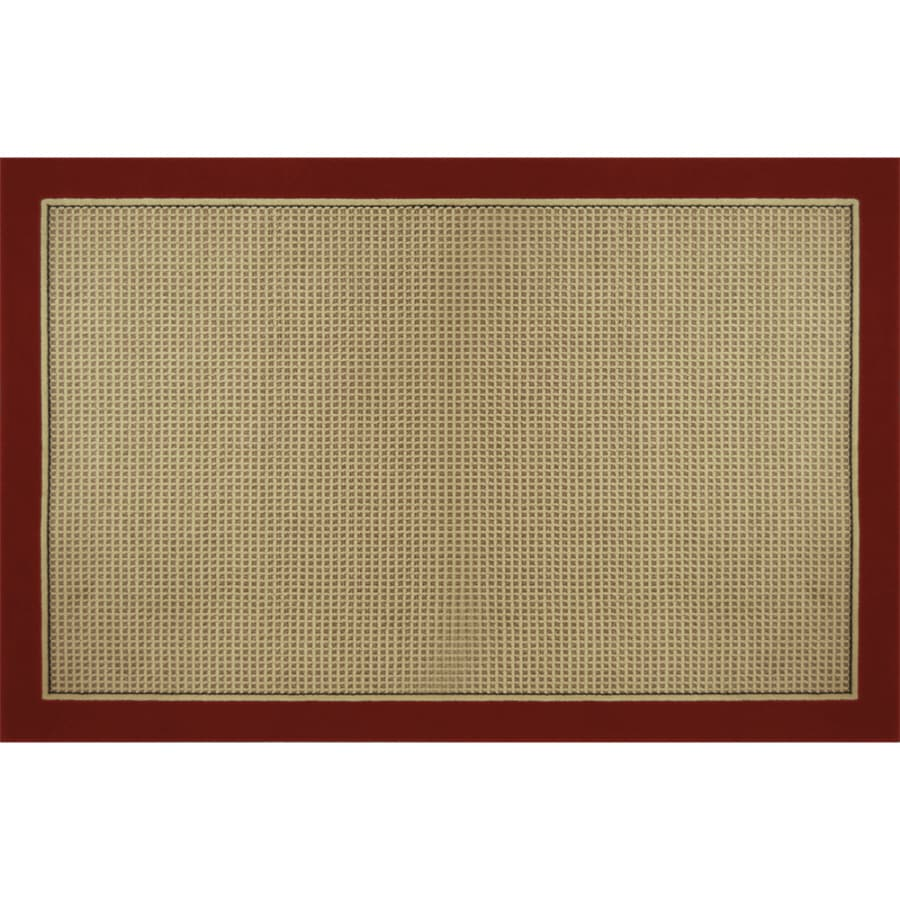 Home Dynamix Madrid Red Rectangular Indoor Woven Area Rug (Common: 8 x 10; Actual: 7.83-ft W x 10.42-ft L)