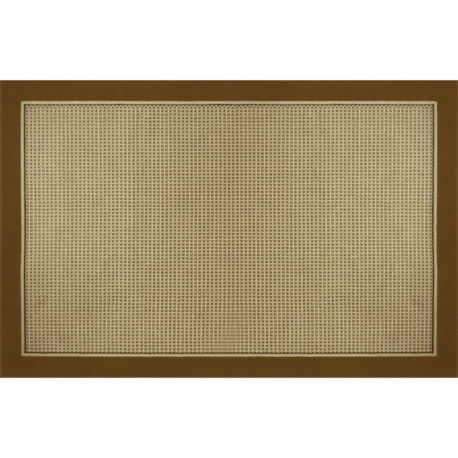 Home Dynamix Madrid Brown Rectangular Indoor Woven Area Rug (Common: 5 x 8; Actual: 5.17-ft W x 7.17-ft L)