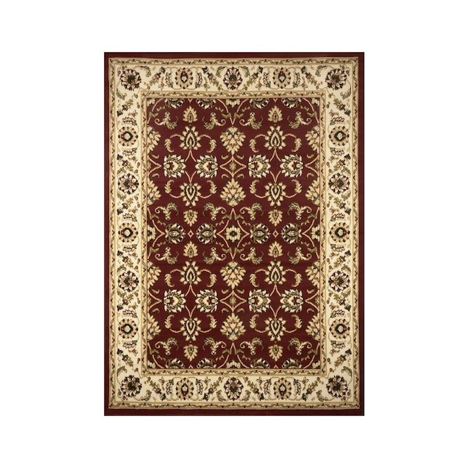 Ft 10 In Red Supreme Area Rug At Lowes Com