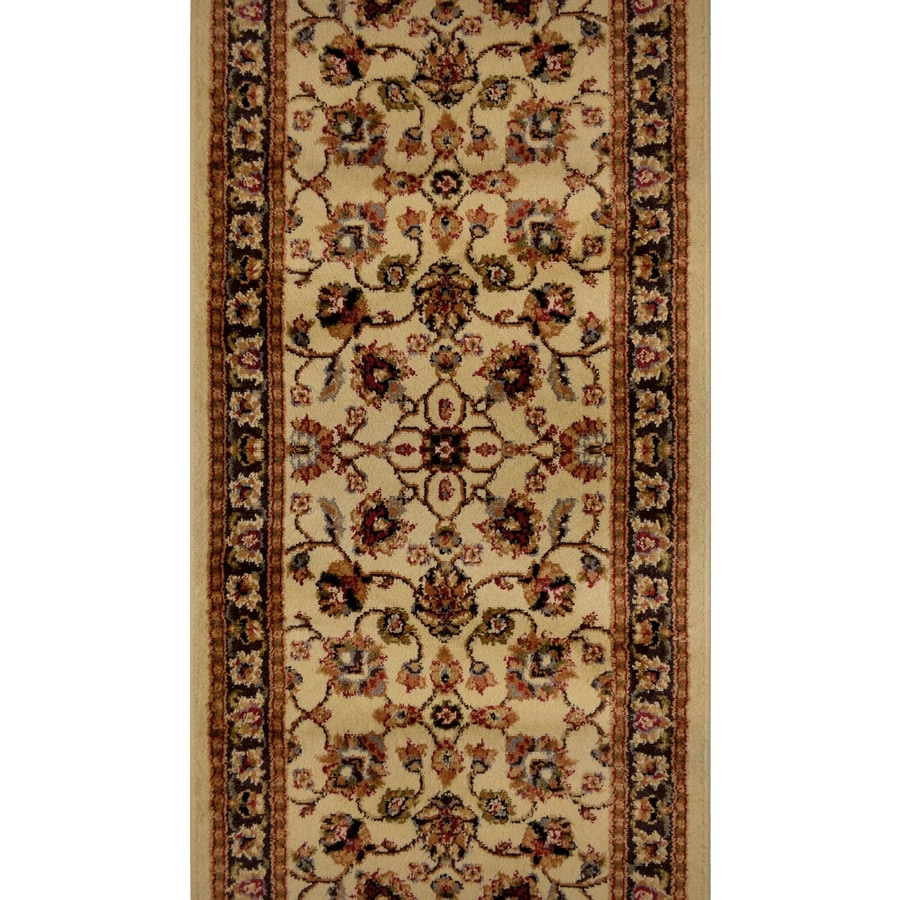 Home Dynamix Paris Ivory Rectangular Indoor Woven Runner (Common: 2 x 18; Actual: 2.25-ft W x 18-ft L)