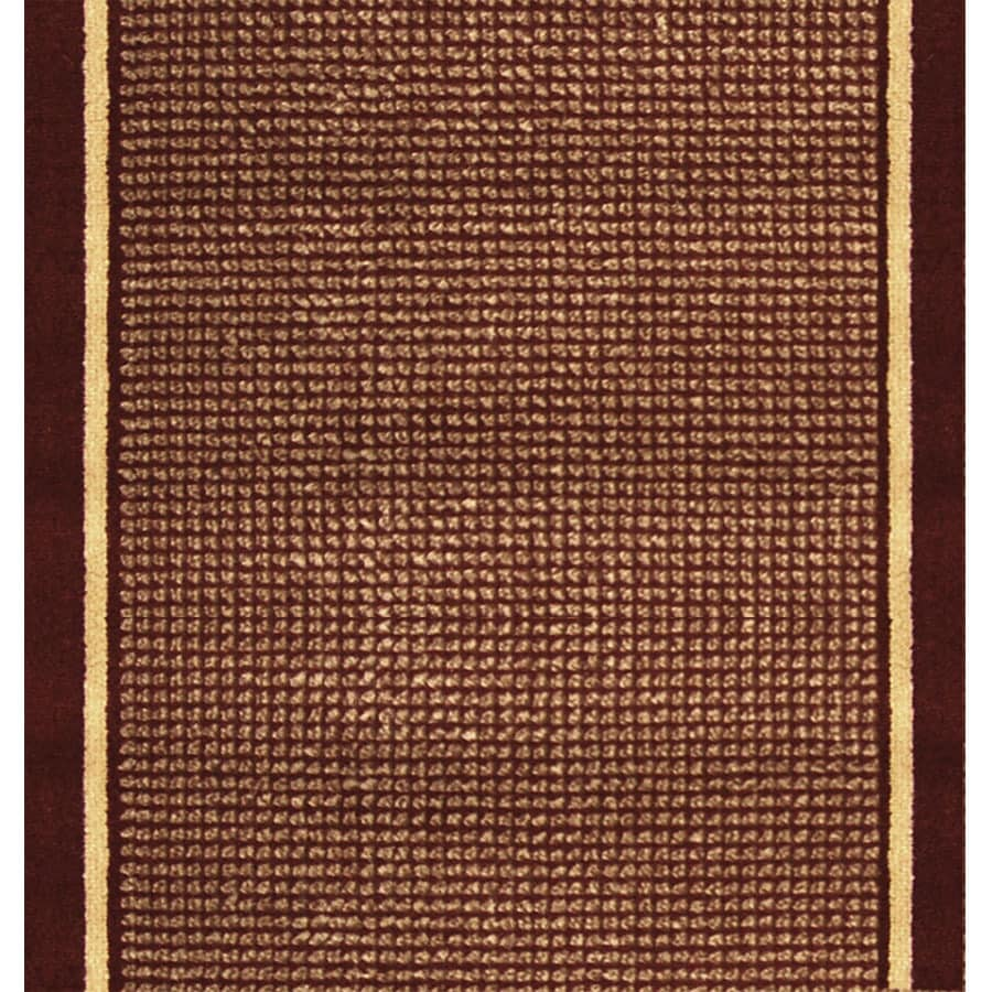 Home Dynamix Madrid Red Rectangular Indoor Woven Runner (Common: 2 x 24; Actual: 27-in W x 276-in L)