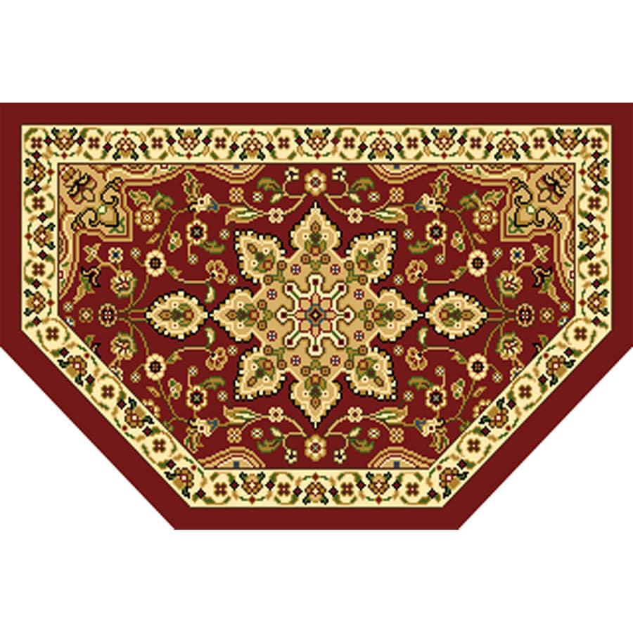 Home Dynamix Grand Royalty Semicircular Indoor Woven Throw Rug Essential Kitchen Floor Mat Les Rugs Semi Circle Sears