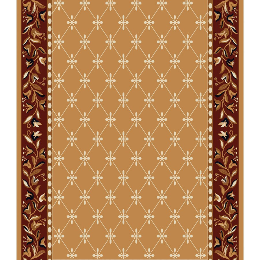 Home Dynamix London Sand Rectangular Indoor Woven Runner (Common: 2 x 12; Actual: 2.25-ft W x 11-ft L)