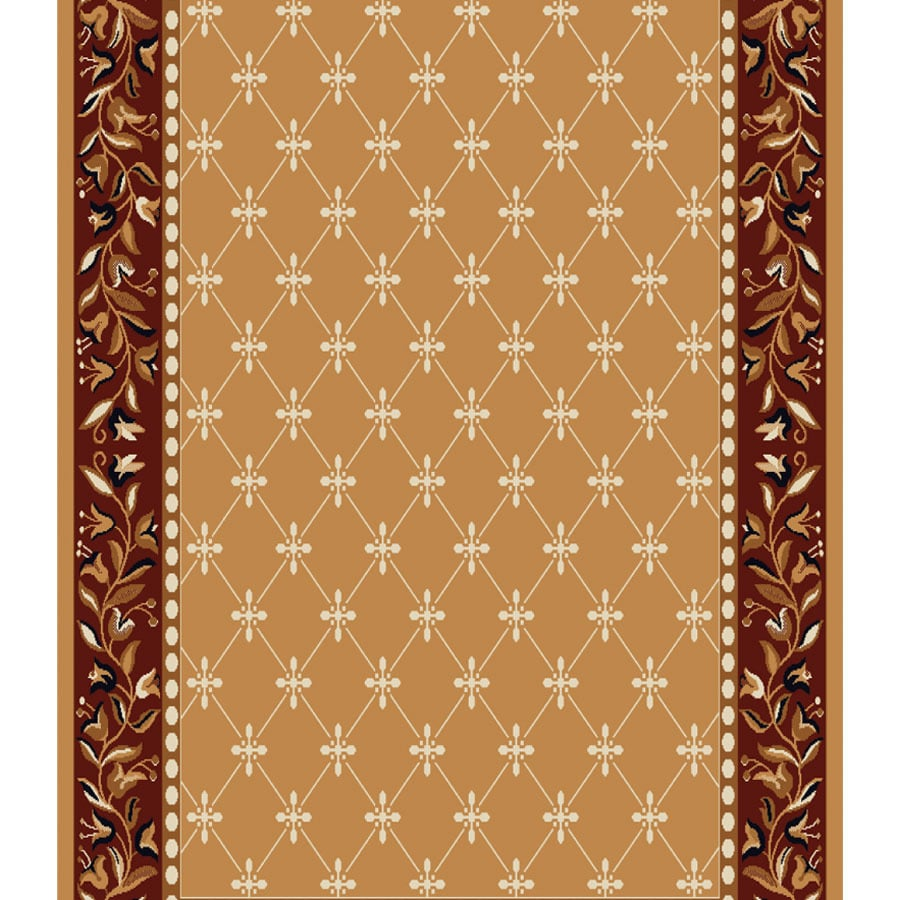 Home Dynamix London Sand Rectangular Indoor Woven Runner (Common: 2 x 18; Actual: 2.25-ft W x 17-ft L)