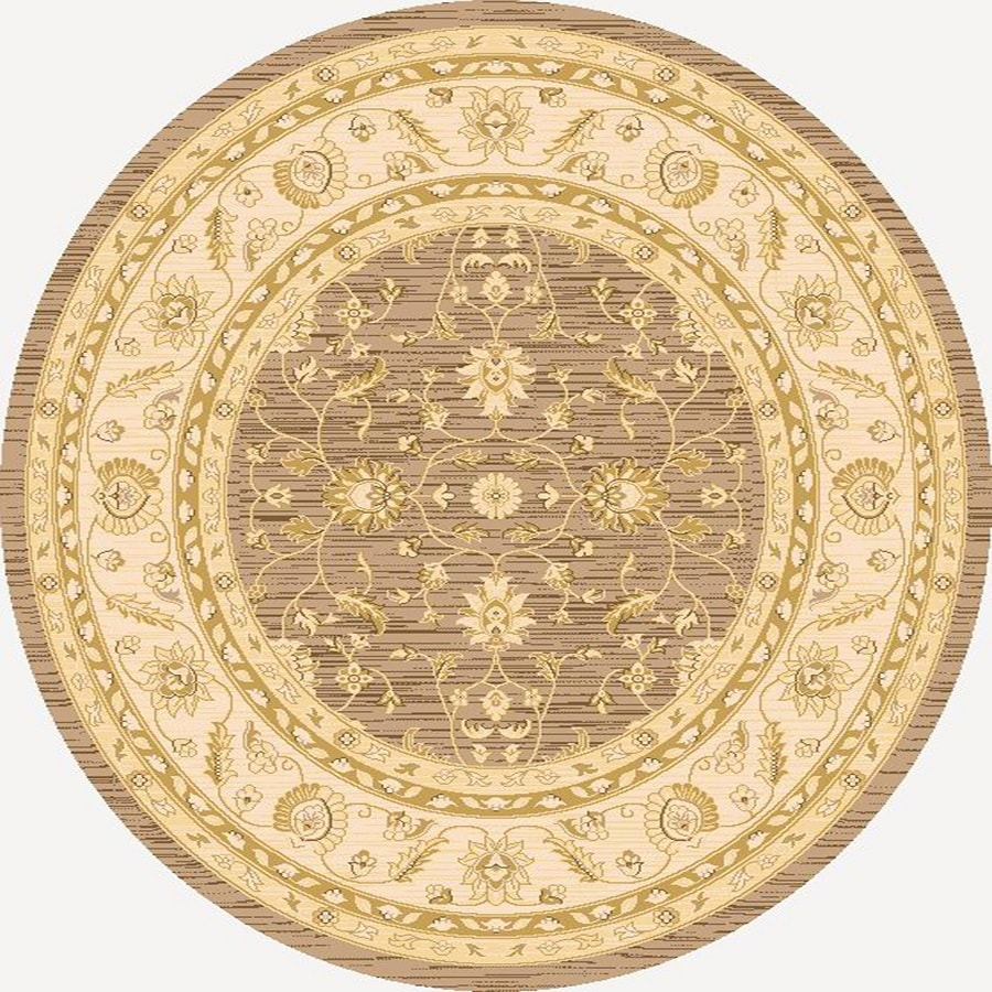 Home Dynamix Marrakesh Round Indoor Woven Area Rug (Common: 5 x 5; Actual: 5.17-ft W x 5.17-ft L)