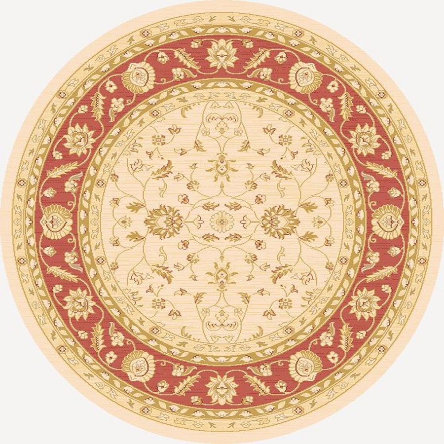 Home Dynamix Marrakesh Round Indoor Woven Area Rug (Common: 8 x 8; Actual: 94-in W x 94-in L)