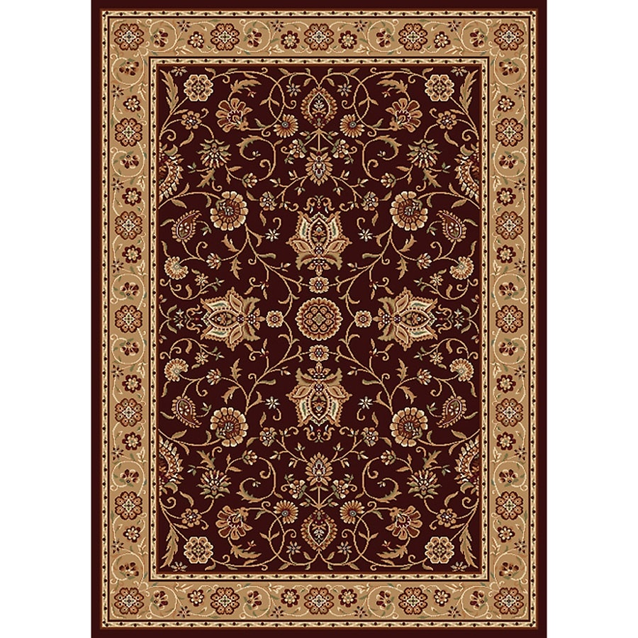 Home Dynamix Rome Rectangular Indoor Woven Throw Rug (Common: 2 x 4; Actual: 2.58-ft W x 4.17-ft L)