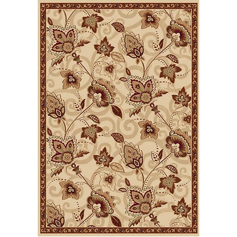 Home Dynamix Lisbon Rectangular Indoor Woven Throw Rug (Common: 2 x 4; Actual: 2.58-ft W x 4.17-ft L)