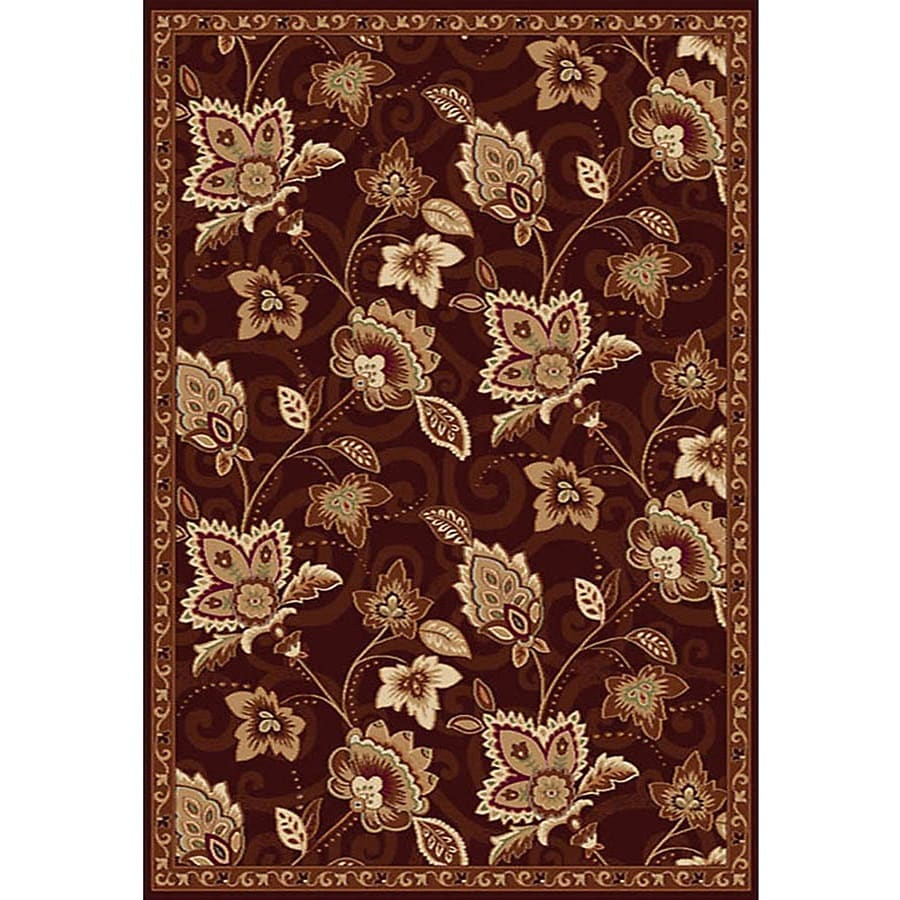 Home Dynamix Lisbon Rectangular Indoor Woven Throw Rug (Common: 2 x 4; Actual: 31-in W x 50-in L)