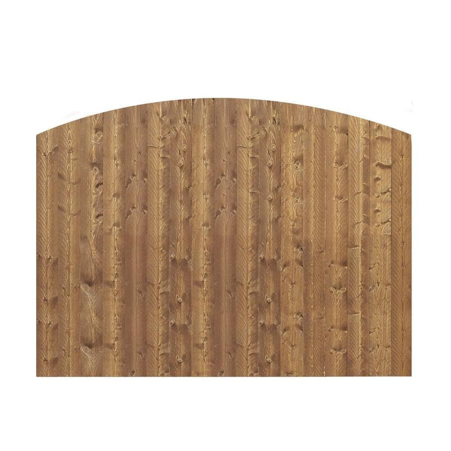 Barrette Cedar Spruce Pine Fir Privacy Fence Panel (Common: 6-ft x 8-ft; Actual: 5.91-ft x 8-ft)