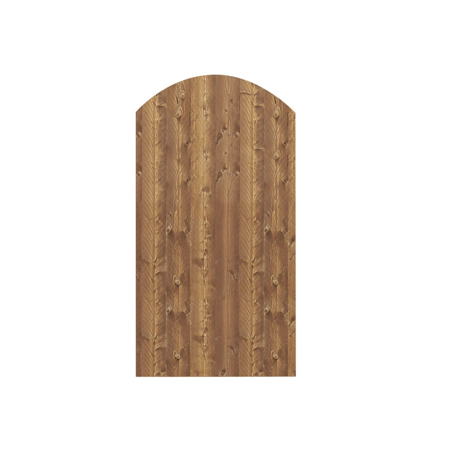 Barrette (Common: 6-ft x 3-ft; Actual: 6-ft x 3.11-ft) Cedartone Spruce Pine Fir Privacy Gate