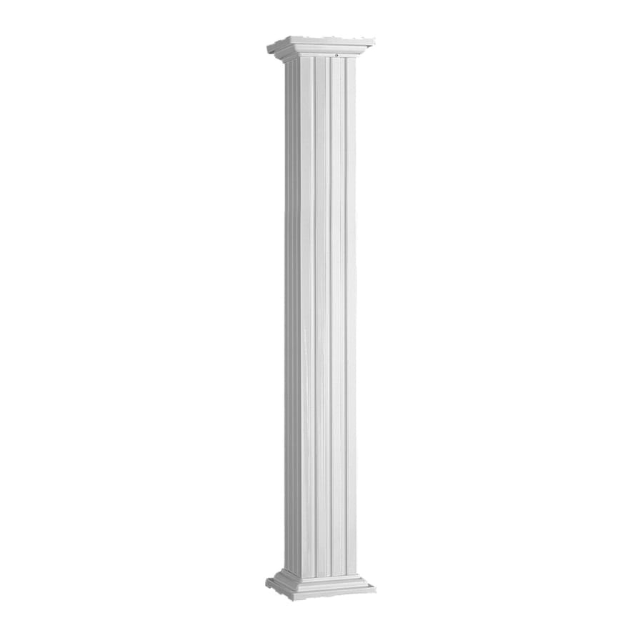 IMPERIAL 10-in x 9-ft Aluminum Colonial Column