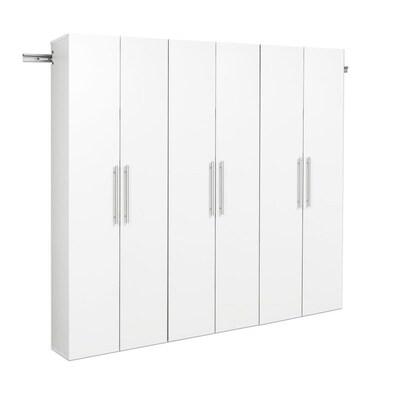 Prepac Hangups 72 In W Wood Composite Wall Mount Utility Storage