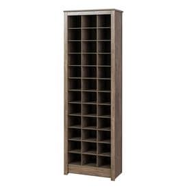 b2f6a25c6c1 Prepac Space-Saving Shoe Storage Cabinet