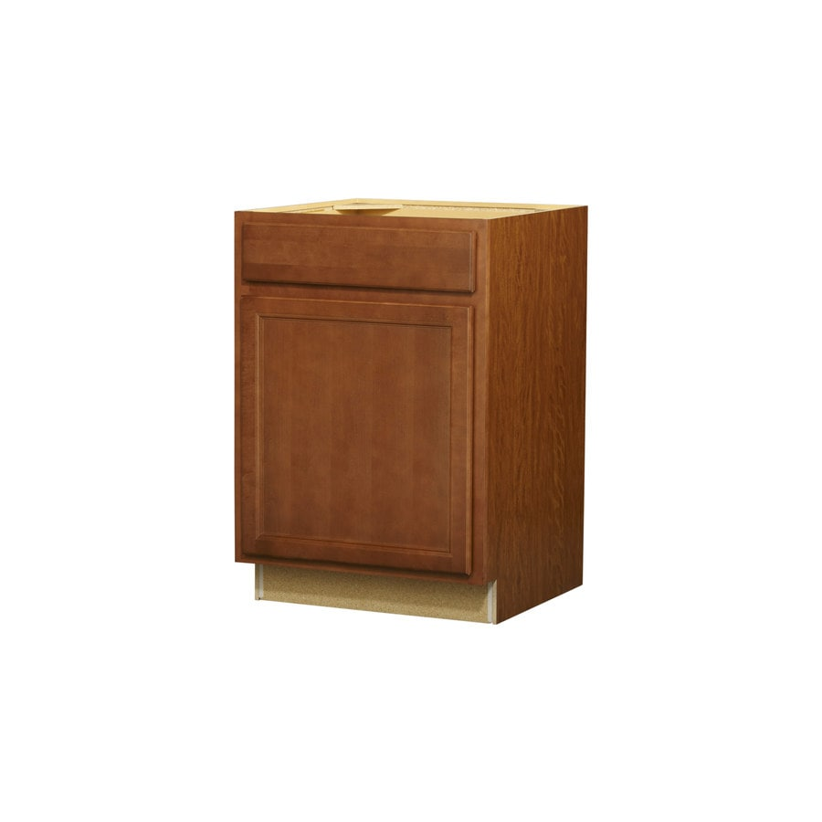 Shop kitchen classics napa 24 in w x 35 in h x 2375 in d for Kitchen cabinets lowes with nappes papiers