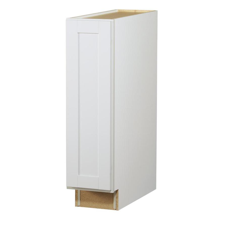Fantastic Shop Diamond NOW Arcadia 9-in W x 35-in H x 23.75-in D White Door  FA49