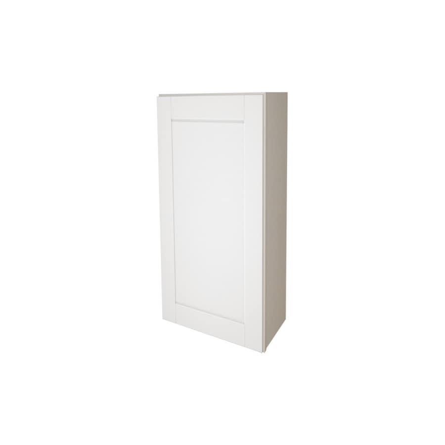 lowes kitchen wall cabinets shop kitchen classics 9 quot x 36 quot white wall cabinet at lowes 22911