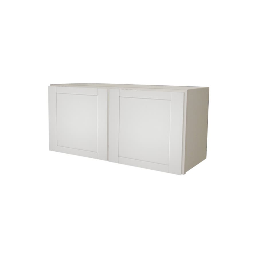 """Kitchen Classics 36"""" x 18"""" White Wall Cabinet at Lowes.com"""