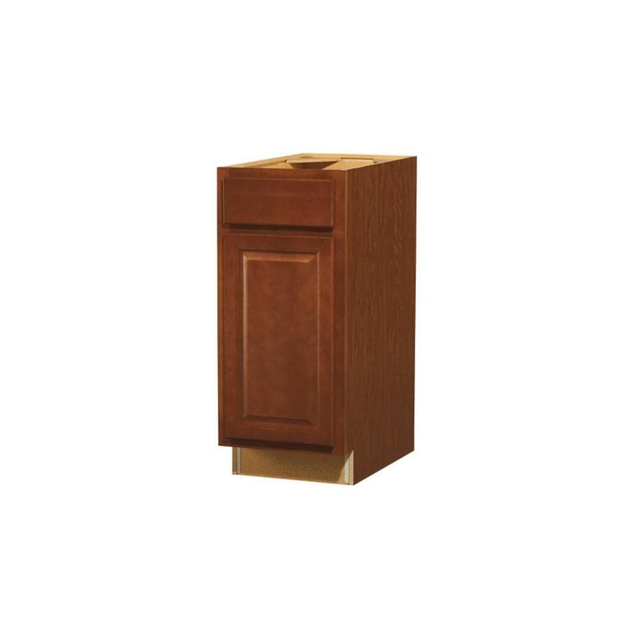 Kitchen Classics Cheyenne 15-in W x 35-in H x 23.75-in D Saddle Door and Drawer Base Cabinet