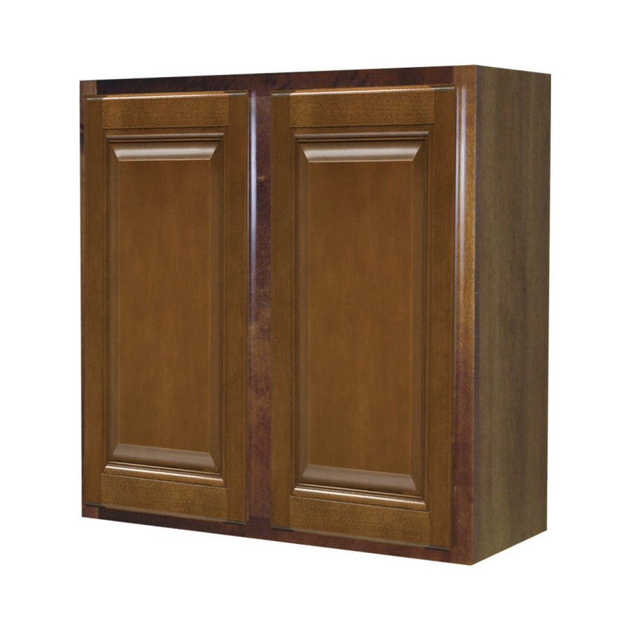 lowes kitchen wall cabinets shop kitchen classics 30 quot x 36 quot saddle wall cabinet at 22911