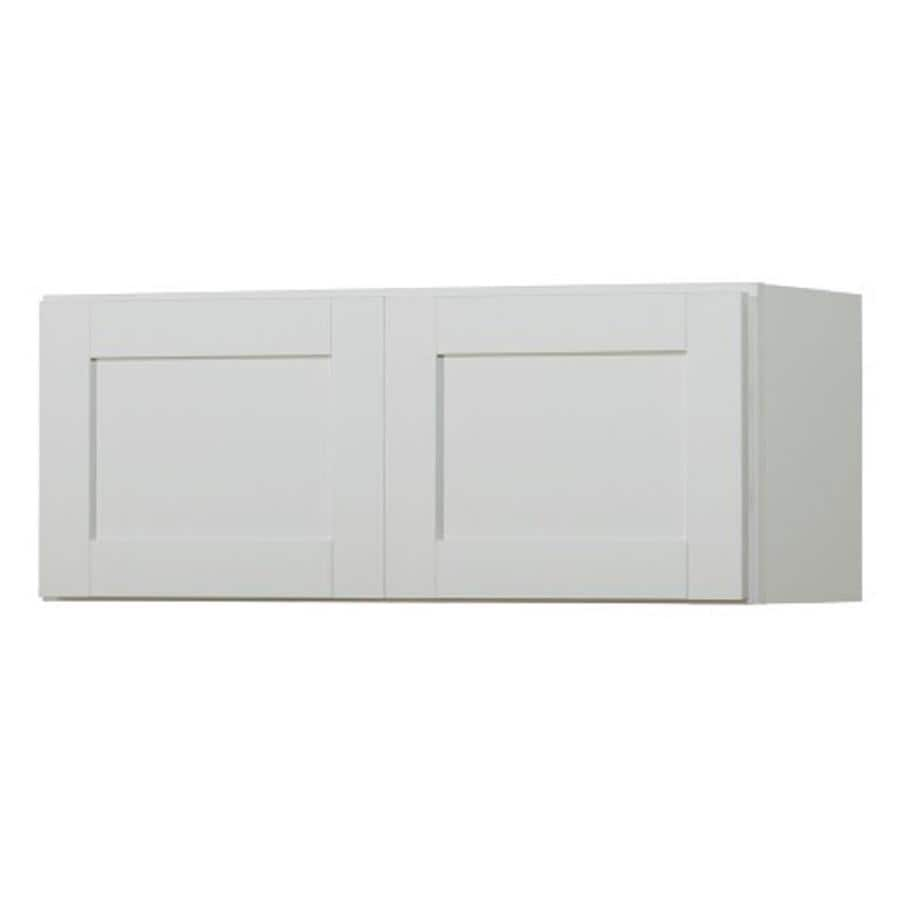 Kitchen Classics Arcadia 30-in W x 12-in H x 12-in D White Door Wall Cabinet