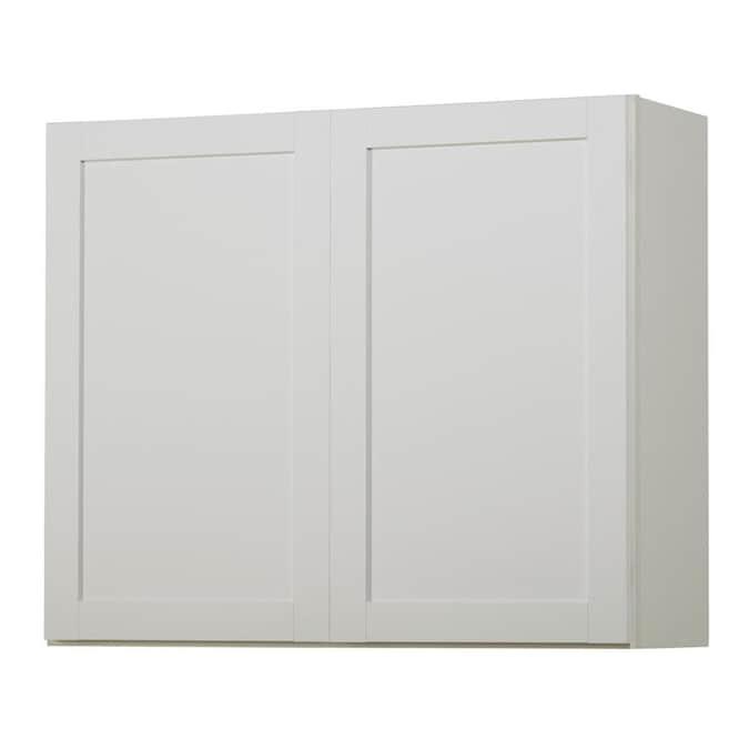 Kitchen Classics Arcadia 36-in W x 30-in H x 12-in D White ...