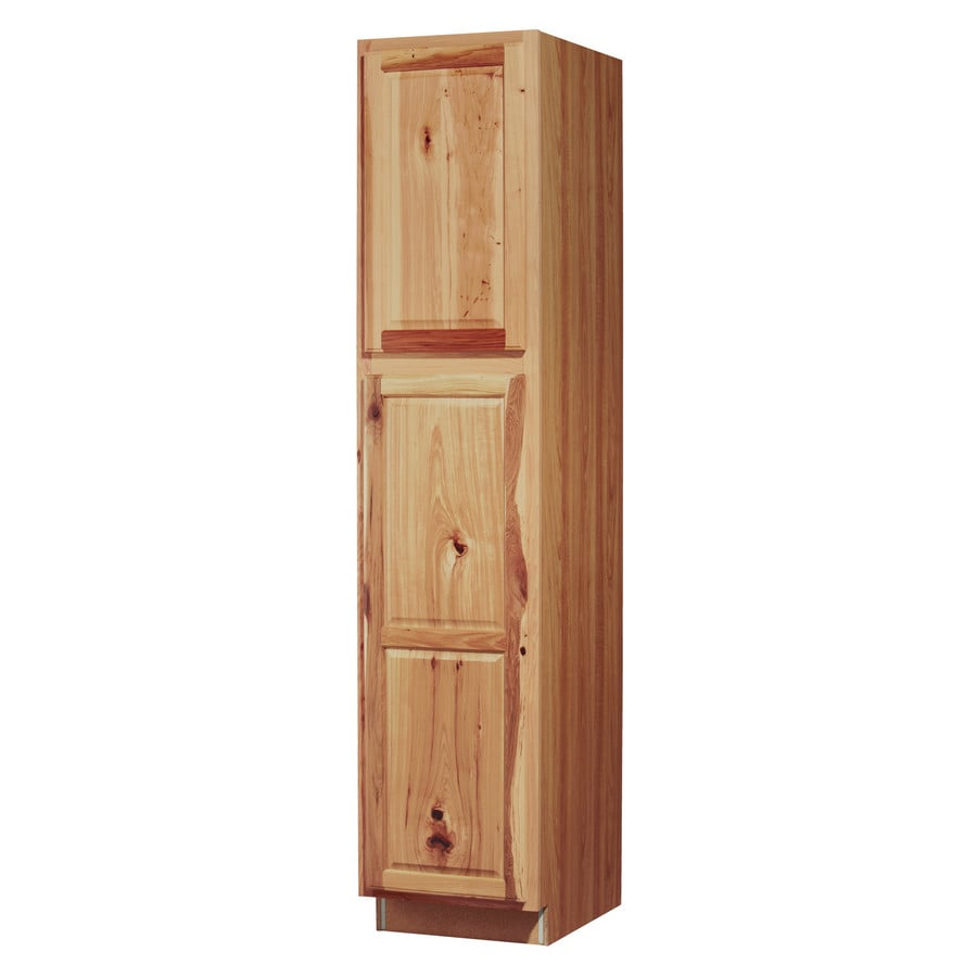 Kitchen Classics 7-ft x 18-in x 23.75-in Denver Hickory Pantry Kitchen Wall Cabinet