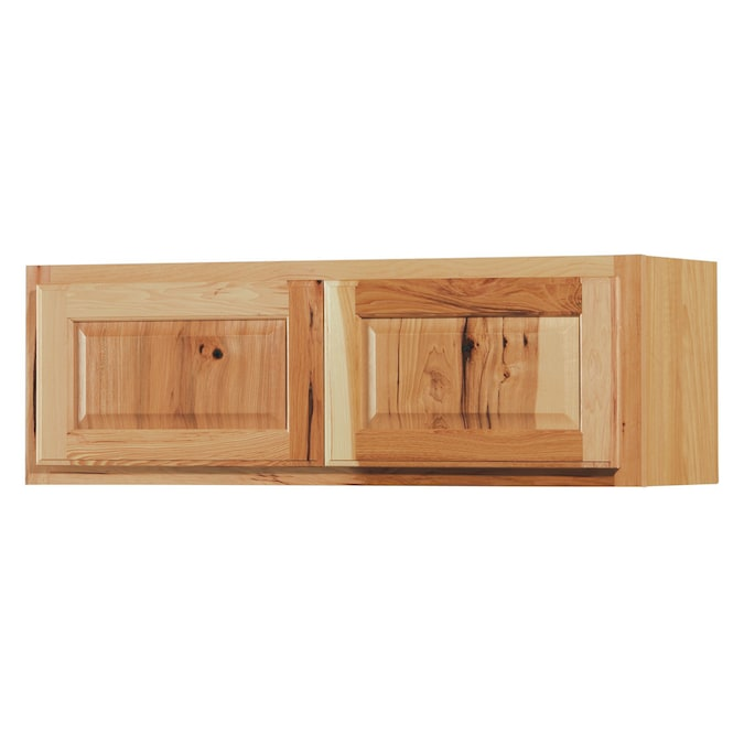 Kitchen Classics Denver 36 In W X 12 In H X 12 In D Stained Hickory Door Wall Cabinet In The Stock Kitchen Cabinets Department At Lowes Com