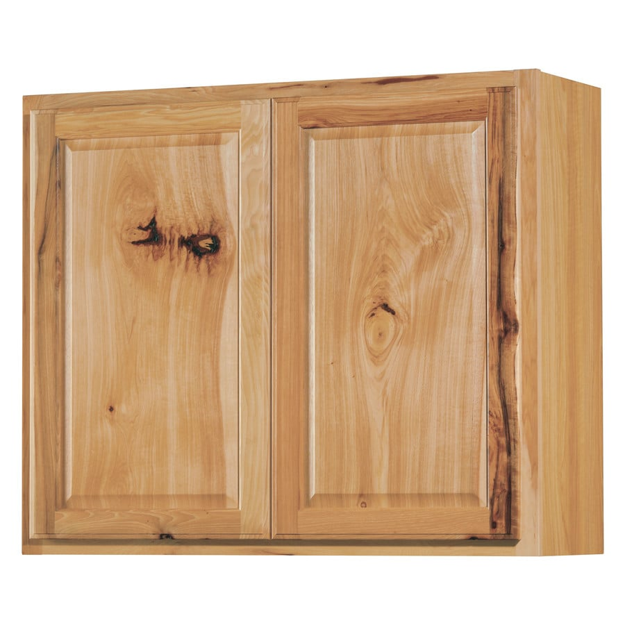 shop kitchen classics denver 36 in w x 30 in h x 12 in d stained hickory door wall cabinet at. Black Bedroom Furniture Sets. Home Design Ideas